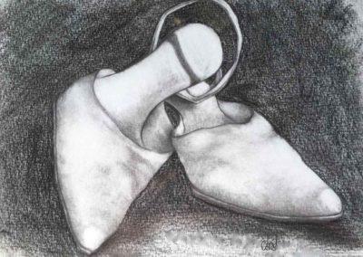 CBost - Dessin crayon sur Canson - Chaussures - 03