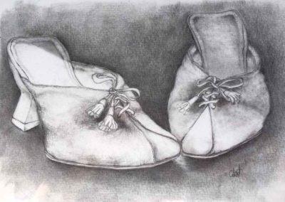 CBost - Dessin crayon sur Canson - Chaussures - 05