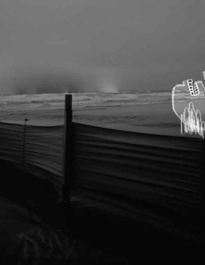 CBost - Photo dessin - La Grande Motte - Noir et Blanc - 01