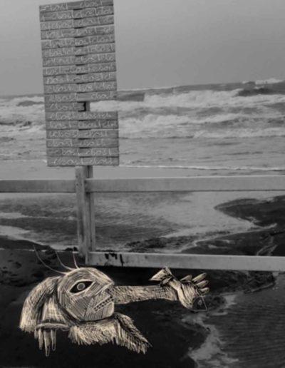 CBost - Photo dessin - La Grande Motte - Noir et Blanc - 09