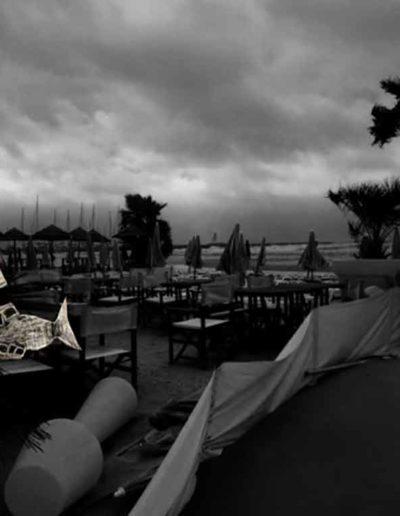 CBost - Photo dessin - La Grande Motte - Noir et Blanc - 10