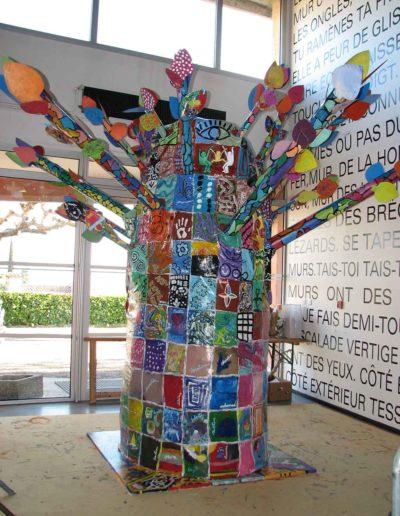 CBost - Sculptures - Les Ateliers de l'Arbre à Palabres - 2011