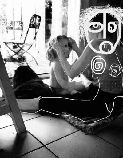 CBost - Photo dessin - Lio - With Mamie