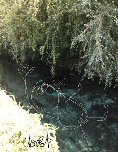 CBost - Photo dessin - Sorgues - Fils de l'eau