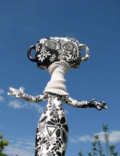 CBost - Sculptures - Femmes Girafes - 01