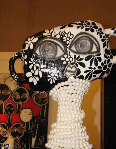 CBost - Sculptures - Femmes Girafes - 02