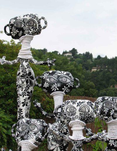 CBost - Sculptures - Femmes Girafes - 04