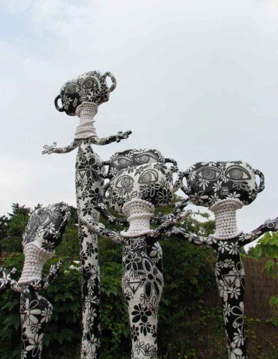 CBost - Sculptures - Femmes Girafes - 06