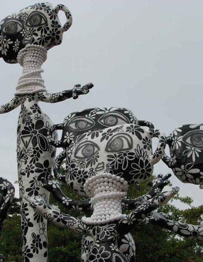 CBost - Sculptures - Femmes Girafes - 07